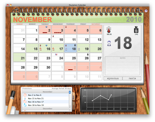 Ovulation Calendar Desktop